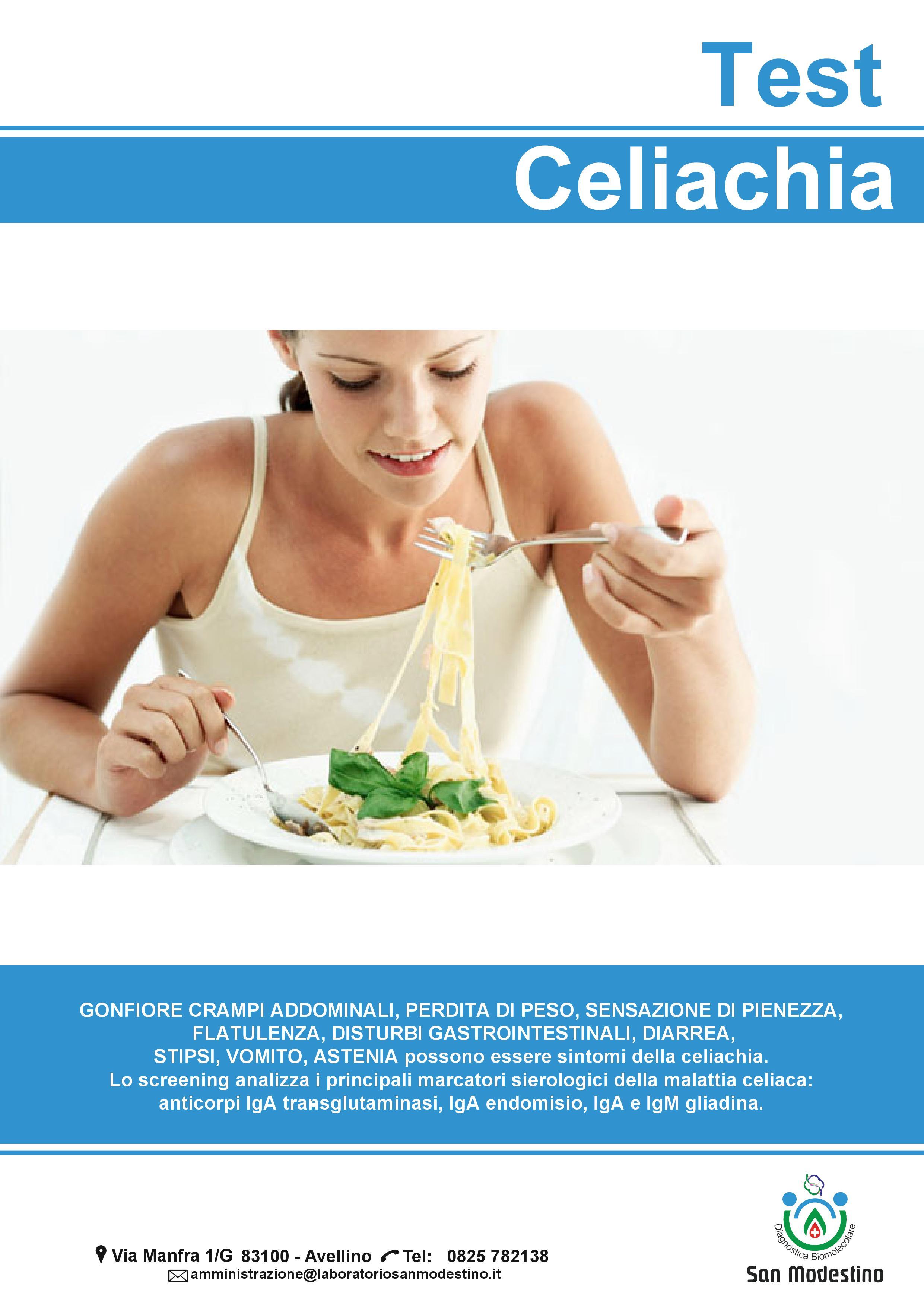 Test Celiachia